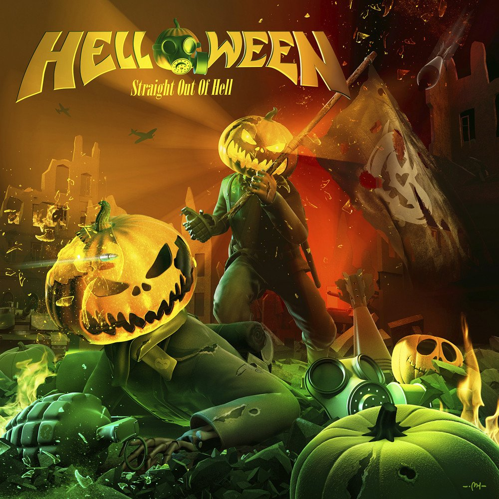 Helloween Straight out of hell 1000