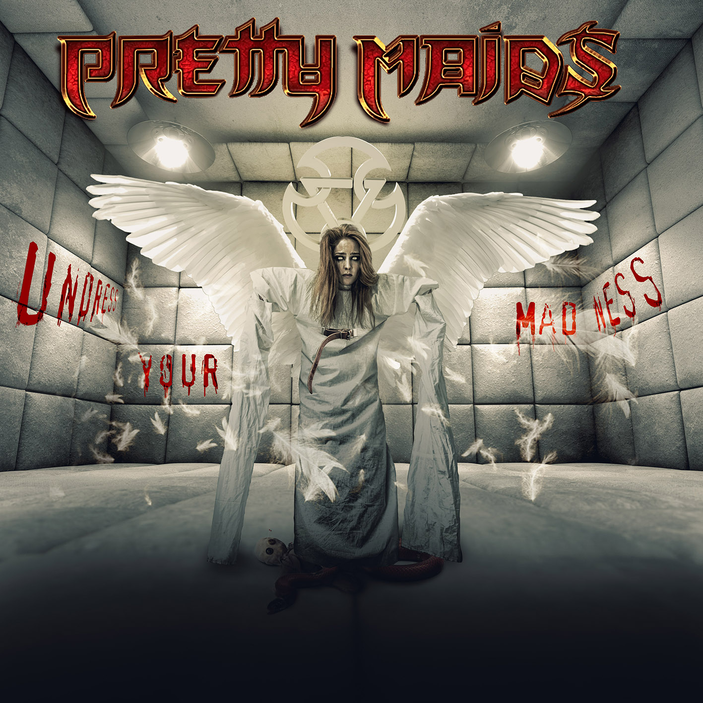 PRETTY MAIDS undress your madness COVER