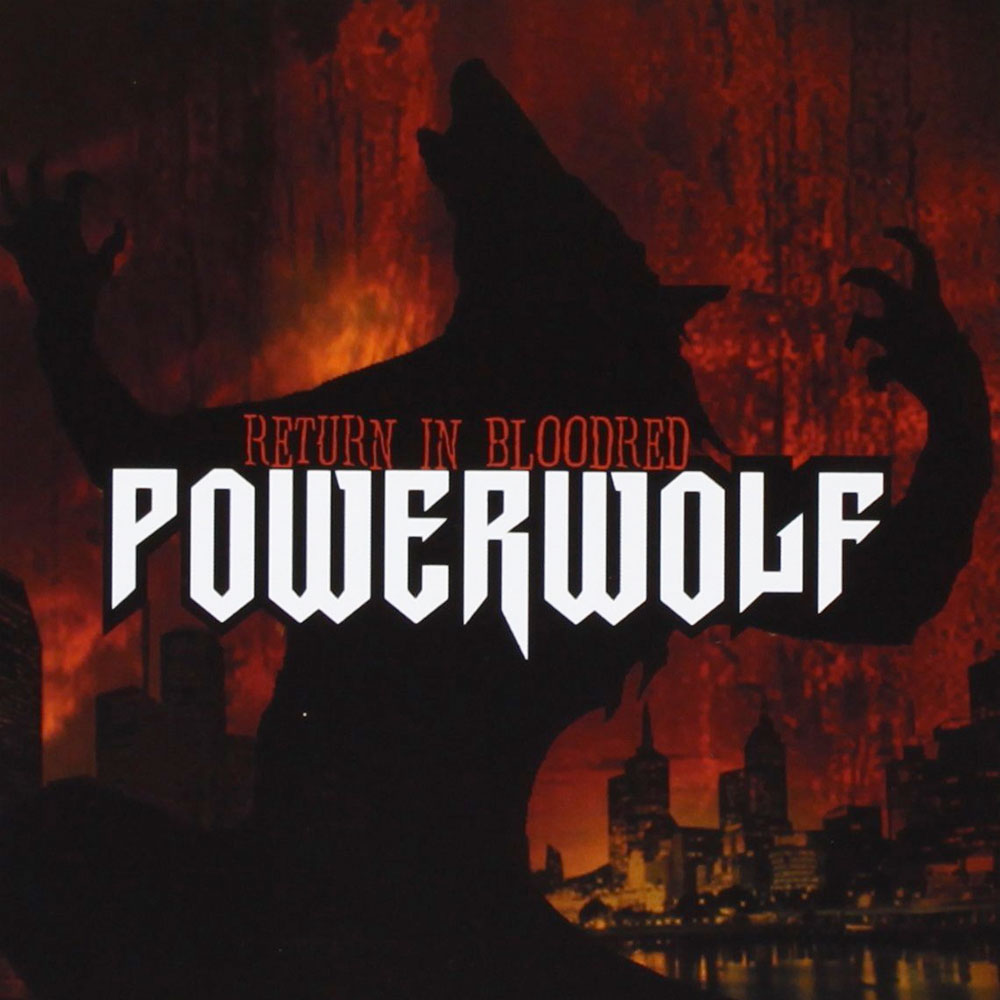 Powerwolf Return in bloodred banda